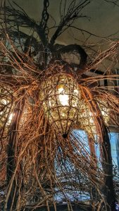 Twig chandelier light--jscottmcelroy.com